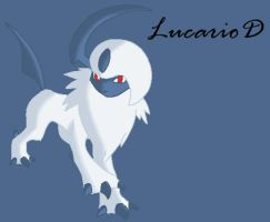 absol by lucarioD