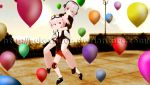 MMD-Jubilee and Asleen [Happy Birthday TM2 2] by Heleannor