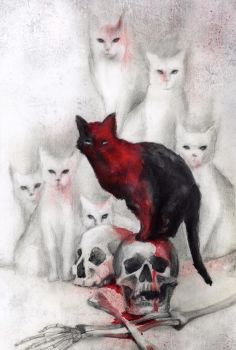 The Cats of Ulthar by BeatrizMartinVidal