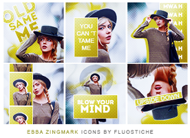 ebba zingmark :: icons by fluostiche