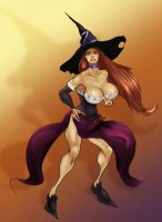 Dragons Crown Sorceress by Selkirk (COLORS) by carol-colors