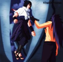 naruto 661 - Sasuke's death by KhalilXPirates