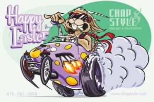 Happy Easter by chapstyle
