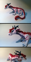 Dragon Sculpture by TakenFlyght