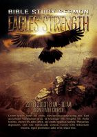 Eagles Strength Flyer Template by Junaedy-Ponda