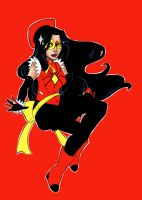 magical girl spider-woman by gemlight