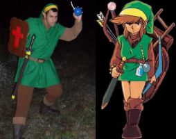 Home-made Link Costume by Scotaliano