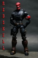 Custom Marvel Legends Red Skull 1 by lrcustoms