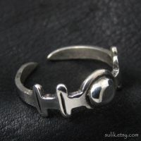 Silver Roman ring by Sulislaw