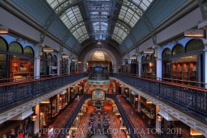 Queen Victoria Building HDR by FireflyPhotosAust