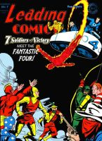 The 7 Soldiers of Victory meet the Fantastic Four! by Gwhitmore