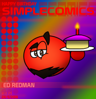Happy Birthday simpleCOMICS 2014 by BluebottleFlyer