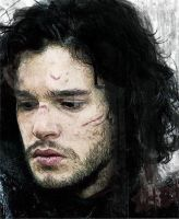 Jon Snow by Martaxrodriguez