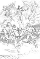 X-Men 090710 by ChrisMcJunkin