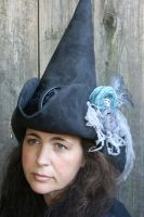 Pirate Witch Hat by mermaidencreations