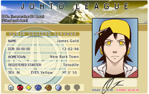James' pokemon ID by Protocol00
