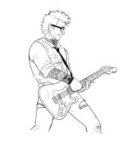 Rock Star Newt WIP 2 by Seraph5