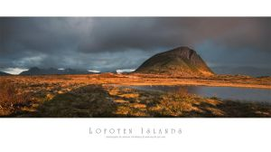 Gimsoya - Lofoten Islands by Stridsberg