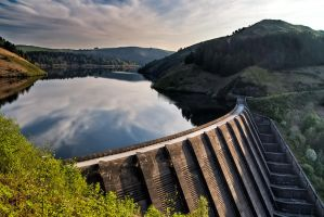 Clywedog Dam by CharmingPhotography
