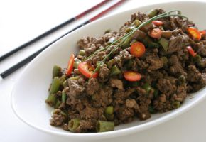 Beef And Beans Stir Fry by neongeisha