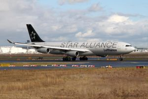 Airbus A340-313 by PlaneSpotterJanB
