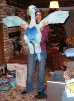 Huge Lugia Plush 2 by Articuno