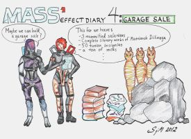 Mass Effect 1 Diary: 4 Garage sale by sleepyhamsteri