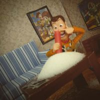 Woody's Hollywood Lifestyle by M-Watts-Art