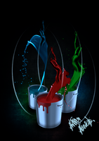Paint Tossing Image by azevedo9