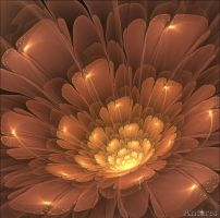Bronze flower by Antares2