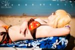 Beach Cosplay - Chilling by maverickdelta
