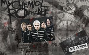 The Black Parade wallpaper by Treeprincess