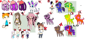 Free Adopts(closed) by flamelover1