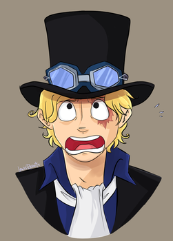 One Piece: Sabo by lewisrockets