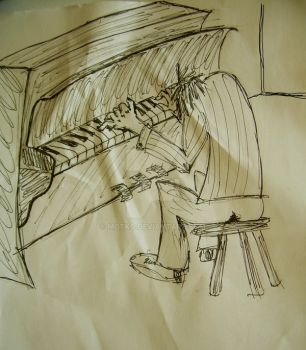 playin' piano by Motko
