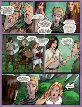 Prydain: the Graphic Novel, Chapter 10 Page 8 by saeriellyn