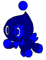 Kate's pet Chao Midnight by VegetaLover12654