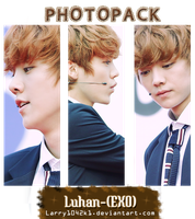 {Photopack #6} Luhan (EXO) by Larry1042k1