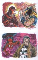 Marvel Greatest Battles double cards by ElvinHernandez
