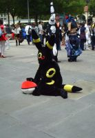 Fanime'11: Umbreon by theEmperorofShadows