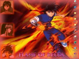Flame of Recca WP by HieiSQueen