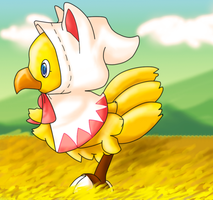 Collab: Chocobo by RecklessKaiser