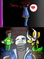 Sans X Frisk: Forbidden love by ReneeIsdetermined