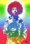 Jimi by artbypaulfisher