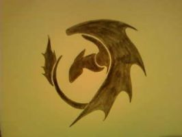 Nightfury symbol by odvie