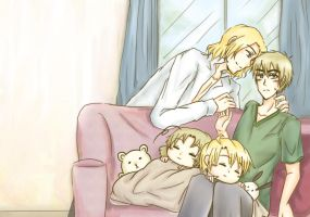 APH_Sweet Family_AmeFcPrize by d-davi