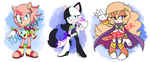 CLOSED Paypal Adoptable - Tenrec, Cat, and Dog by Togekisser