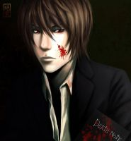Yagami Light  _ Death Note by Zetsuai89