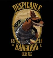 Despicable Kangaroo by AD-Ink
