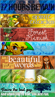Legend of Zelda Signatures III by Aerostella